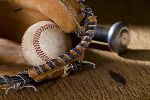 photo balle gant et batte de baseball 012